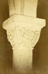 AD 1121, Capitals In The Crypt (The Carving Later)